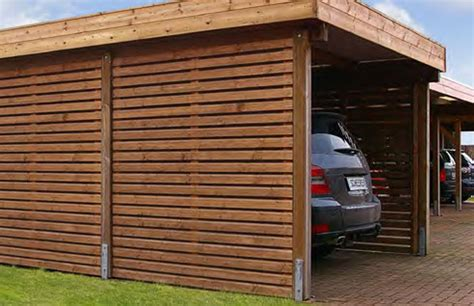 Carport Welches Holz by Welches Holz Fr Carport Free Excellent Carport Beispiele