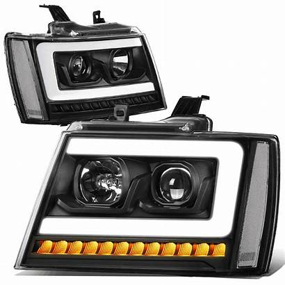 Chevy Led Tahoe Drl Suburban Projector Sequential