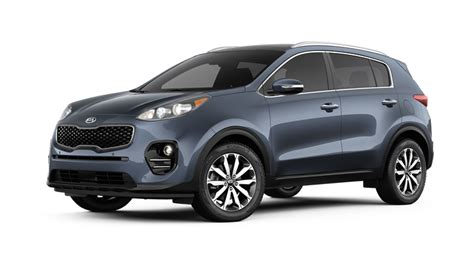 2018 Kia Sportage Paint Color Options And Interior Fabric