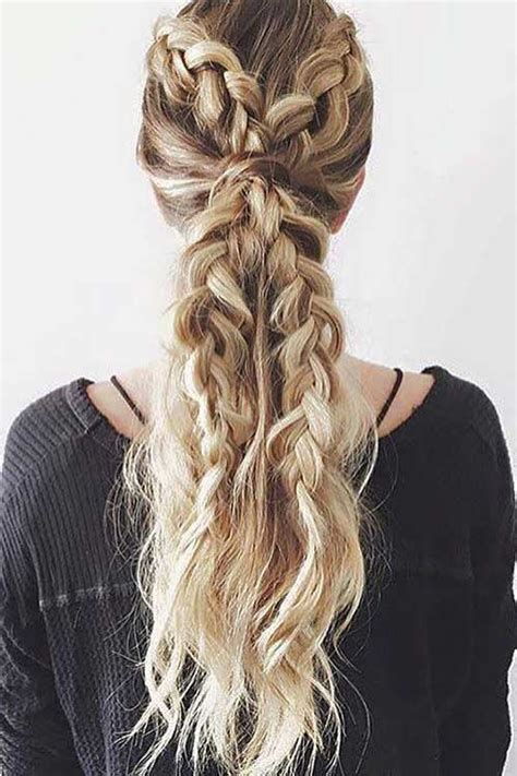 20 Best Prom Braided Hairstyles   Long Hairstyles 2016   2017