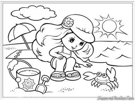 Coloring Pemandangan by Pemandangan Bawah Laut Free Coloring Pages