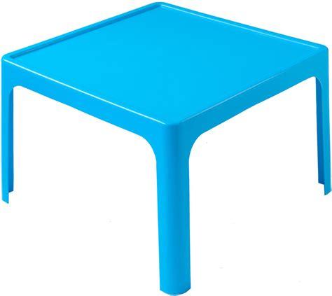 Kitchen Island With Drawers - childrens resin table kids plastic table blue tikk tokk