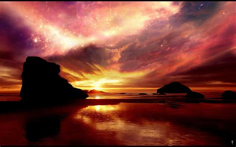 hd sunset wallpapers backgrounds images design