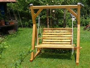Gartenschaukel Atelier De Bois