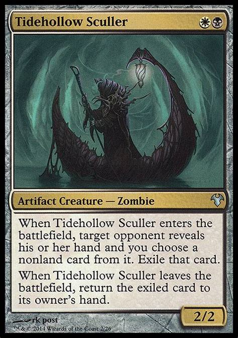 mtg modern decks tapped out tidehollow sculler mtg card