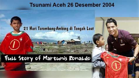 tsunami aceh  hari terombang ambing  laut