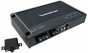Rockford Fosgate R250x1 250 Octave Mono Amplifier With Remote Plc