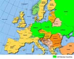 Eu Member Countries Map
