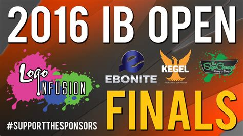 2016 Logo Infusion InsideBowling.com Open Finals - YouTube