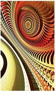 abstract orange fractals geometry 2560x1600 wallpaper High ...