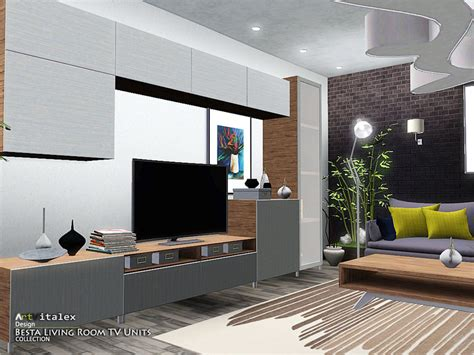Artvitalex's Besta Living Room Tv Units