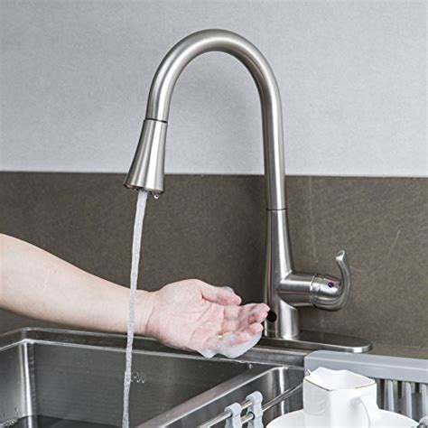 Moen Touchless Kitchen Faucet by Top Touchless Kitchen Sink Faucets Gistgear