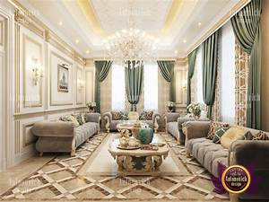 Living Room In A Classic Style