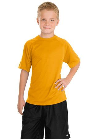 sport tek youth dry zone raglan  shirt