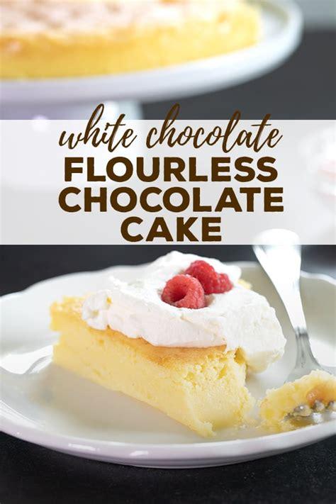 white flourless chocolate cake restaurant quality easily