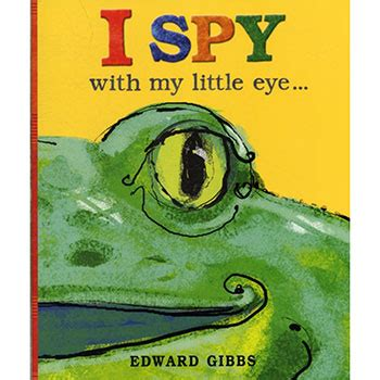 I Spy With My Little Eye By Edward Gibbs  Activity Packs