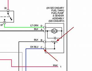 Fuel Level Sensor  I Need Diagram How To Plug The Wires Up