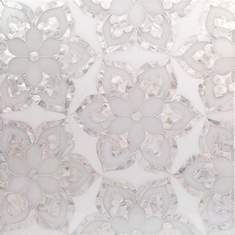 aurora marble pearl tile tiles mosaic house tiles