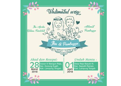 background undangan pernikahan keren kata kata mutiara