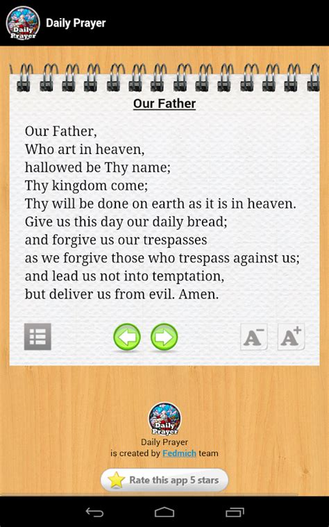 daily prayer english tagalog android apps on google play