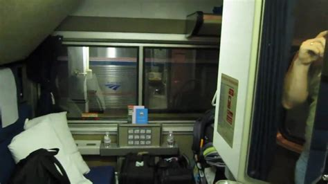amtrak superliner bedroom youtube