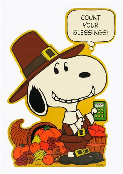Clipart Thanksgiving Charlie Brown Snoopy Fall Blessings