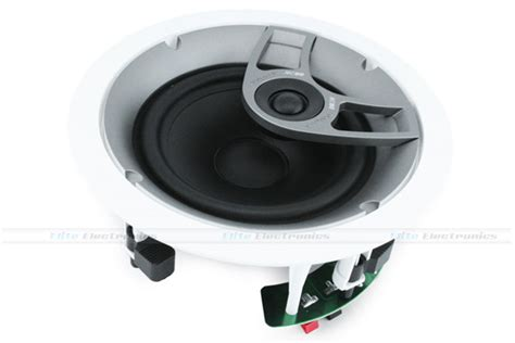 polk audio mc60 6 1 2 quot 2 way in ceiling speaker each