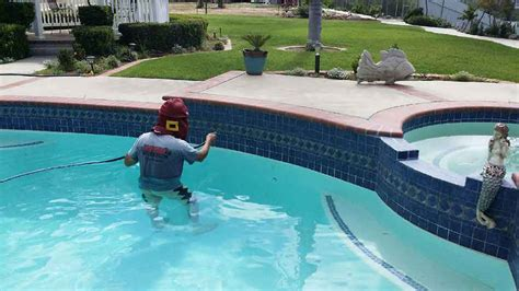 swimming pool tile cleaning menifee murrieta temecula