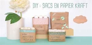 Sac Papier Kraft Deco : fabriquer un sac en papier kraft crafts diy diy paper et paper ~ Dallasstarsshop.com Idées de Décoration