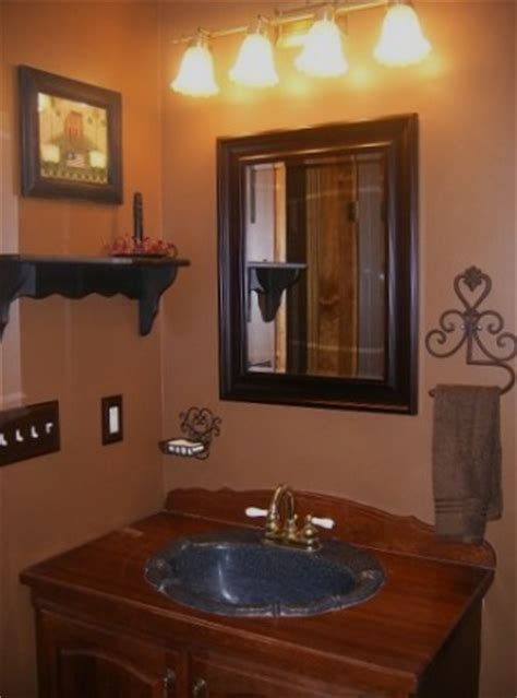 Small Primitive Bathroom Ideas by Information About Rate My Space Questions For Hgtv