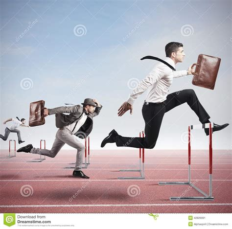 Business Competition Stock Image Image Of Concept