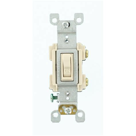leviton light switch leviton 15 preferred switch light almond r66 rs115