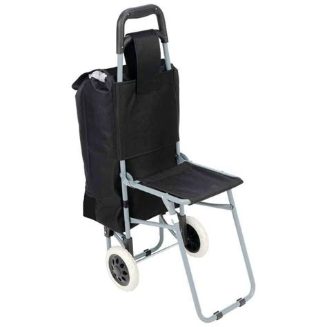 trolley travel bag rolling wheeled shopping grocery cart
