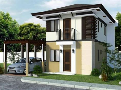 Small House Exteriors, Simple Small House Floor Plans