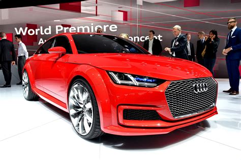 2018 Audi Tt Sportback Concept Is A Stylish Escape From