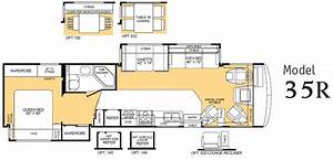 2003 Fleetwood Bounder Floor Plans