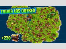 TODOS LOS COFRES DE FORTNITE BATTLE ROYALE +220 COFRES