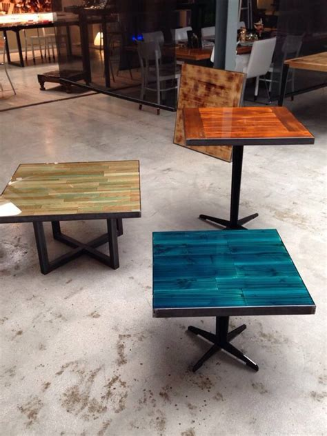 vernis table cuisine colourful restaurant tables designed by ccoating nl