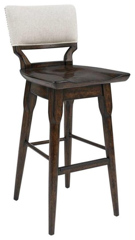 nailhead trim bar stool contemporary bar stools and