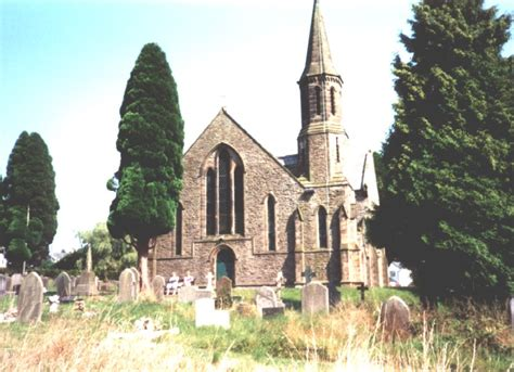 st johns church cinderford forest  dean glos