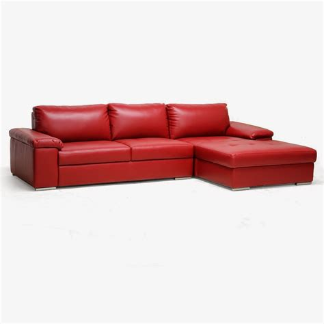4 pied 4 chaise leather sectional