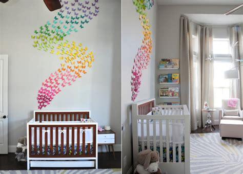 kinderzimmer deko wandgestaltung die besten 25 ideen f 252 r babyzimmer deko und kreative