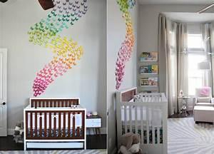 Ideen Für Kinderzimmer Wandgestaltung : wunderbare inspiration kinderzimmer deko wand und ~ Lizthompson.info Haus und Dekorationen