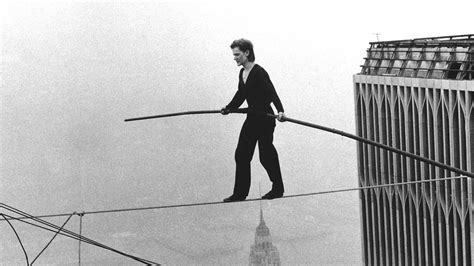 tightrope walking philippe wtc petit moment concern