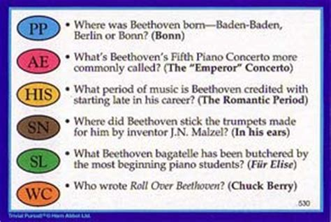 trivial pursuit modern questions cards cards and others ludwig beethoven s website
