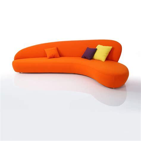 canape d angle orange canapé orange newton meubles et atmosphère