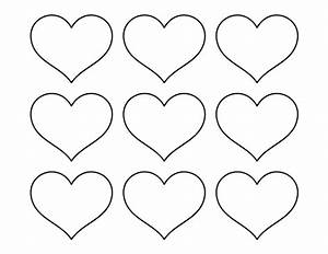 printable small heart pattern use the pattern for crafts With small heart template to print