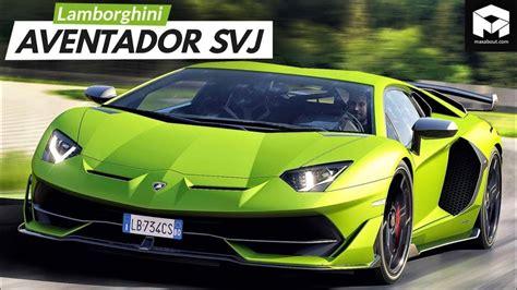 Lamborghini Aventador Svj Specifications & Price