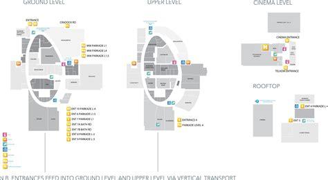 Bathroom Zone Map by Mall Map Rosebank Mall