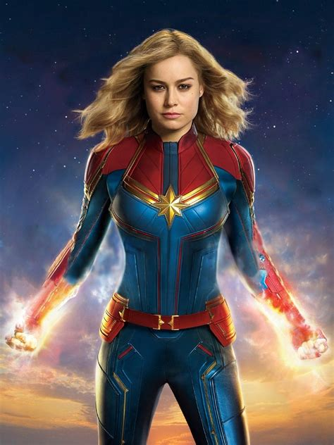 Captain Marvel (2019) Ew Cover Textless By